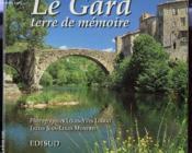 Le gard, terre de memoire - Couverture - Format classique
