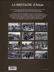 La Bretagne d'antan ; la Bretagne à travers la carte postale ancienne - 4ème de couverture - Format classique