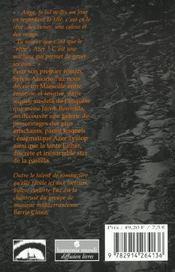 Mefi - 4ème de couverture - Format classique
