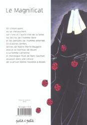 Magnificat (Le) - 4ème de couverture - Format classique
