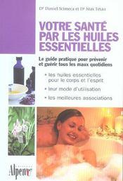 Votre santé par les huiles essentielles - Intérieur - Format classique