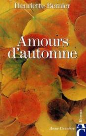 Amours d'automne - Couverture - Format classique