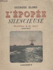 Lepopee Silencieuse. - Couverture - Format classique