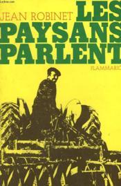 Les Paysans Parlent. - Couverture - Format classique