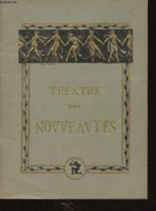 Theatre Des Nouveautes Oh! Papa ! ... - Couverture - Format classique