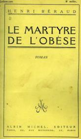 Le Martyre De L'Obese - Couverture - Format classique