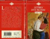 Lettres D'Un Inconnu - Love Letters - Couverture - Format classique