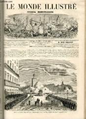 LE MONDE ILLUSTRE N°529 Alégrie - Couverture - Format classique
