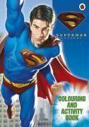 Superman returns colour et activity book - Couverture - Format classique