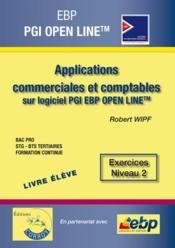 EBP PGI open line PME ; pack formateur (édition 2015) - Couverture - Format classique