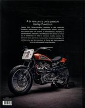 Harley-Davidson, un art de vivre - 4ème de couverture - Format classique