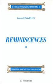 Reminiscences. 1 - Couverture - Format classique