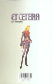 Et cetera t.6 - 4ème de couverture - Format classique