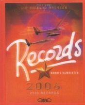 Records 2006 - Intérieur - Format classique