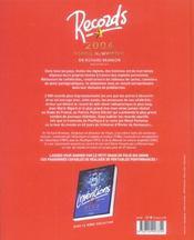 Records 2006 - 4ème de couverture - Format classique