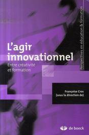 L'agir innovationnel entre créativité et formation - Intérieur - Format classique