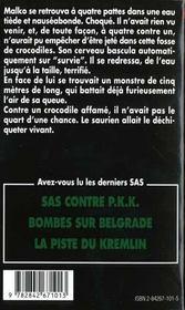 Sas T.138 ; L'Amour Fou Du Colonel Chang - 4ème de couverture - Format classique