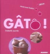 Gatô ! instants sucrés - Couverture - Format classique