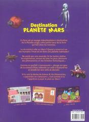 Destination Planete Mars Secrets Et Mysteres De La Planete Rouge - 4ème de couverture - Format classique