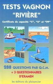 Test fluvial - Intérieur - Format classique