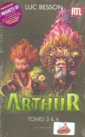 Arthur ; coffret t.3 et t.4 - Intérieur - Format classique
