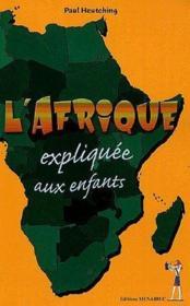 L'Afrique expliquée aux enfants - Couverture - Format classique