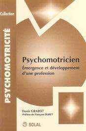 Psychomotricite emergence et developpement d'une profession - Intérieur - Format classique