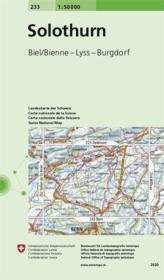 Solothurn - Couverture - Format classique