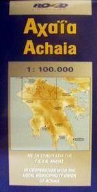 Achaia pref. and patras city map - Intérieur - Format classique