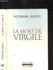 La mort de Virgile - Couverture - Format classique