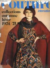 Couture International Collection Automne Hiver 1974 - 1975. - Couverture - Format classique