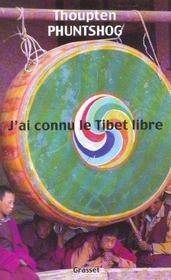 J'ai connu le tibet libre - Intérieur - Format classique