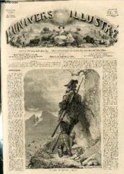 L'UNIVERS ILLUSTRE - DEUXIEME ANNEE N° 70 - Chasseur de chamois - Couverture - Format classique