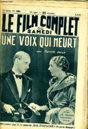 Le Film Complet Du Samedi N° 1283 - 12e Annee - Une Voix Qui Meurt - Couverture - Format classique