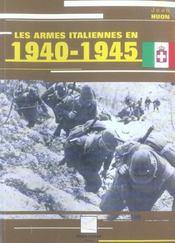 Les Armes Italiennes En 1940-1945 - Intérieur - Format classique