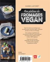 Mon plateau de fromages vegan - 4ème de couverture - Format classique