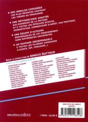 Droit civil des obligations ; méthodologie & sujets corrigés (édition 2021) - 4ème de couverture - Format classique