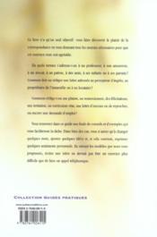 Modeles De Lettres Pour Toutes Occasions - 4ème de couverture - Format classique