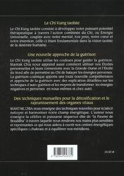 Guerison Par Le Chi Kung Taoiste - 4ème de couverture - Format classique