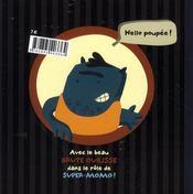 Super-Momo dans piège de fromage - 4ème de couverture - Format classique