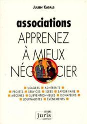 Associations, apprenez a mieux negocier - 1ere ed. - managers d'association - Couverture - Format classique