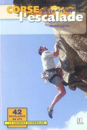 Corse ; paradis de l'escalade - Intérieur - Format classique