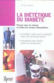 La Dietetique Du Diabete - Intérieur - Format classique