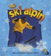 Le ski alpin - Couverture - Format classique