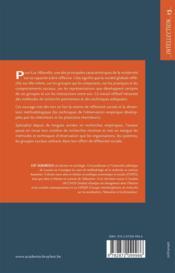 Société réflexive et pratiques de recherche - 4ème de couverture - Format classique