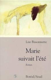 Marie Suivait L'Ete - Couverture - Format classique