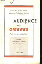 Audience Des Ombres - Portrait En Medaillons - Couverture - Format classique