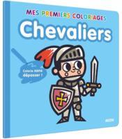 Mes premiers coloriages ; chevaliers - Couverture - Format classique