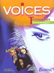 Voices term techno 2003 manuel - Intérieur - Format classique