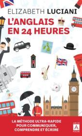 L'anglais en 24 heures - Couverture - Format classique